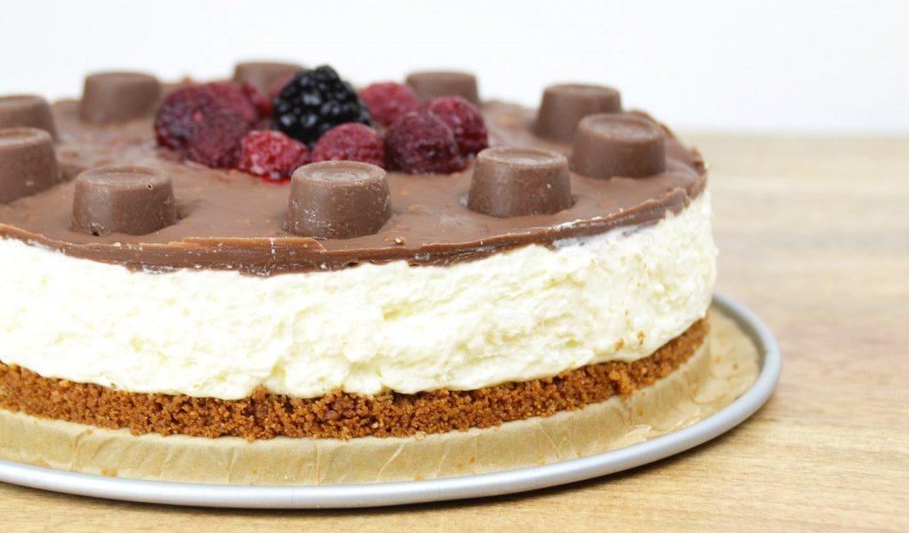 taart maken zonder oven? probeer deze cheesecake met tony's